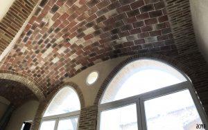 Bóveda tabicada en vivienda neomodernista